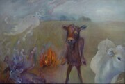 The Burning of the Cow Costumes